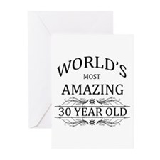 World's Most Amazing 30 Greeting Cards (Pk of 10)
