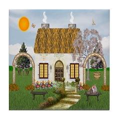 Sunshine Cottage Ceramic Tile