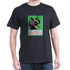 PACO THE WONDER DOG LISTENS IN ON THE NSA T-Shirt