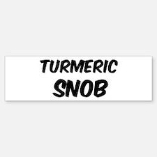 Turmeric Bumper Bumper Bumper Sticker