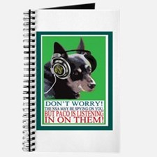 Paco The Wonder Dog Listens In On The Nsa Journal