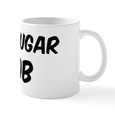 White Sugar Mug