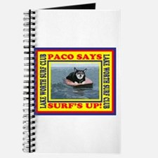 Paco Says Surfs Up! Journal