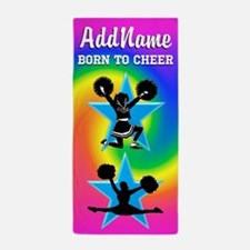 Cheering Squad Beach Towel