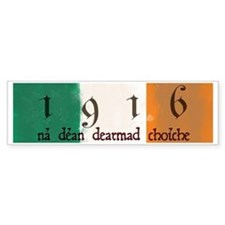 Ireland Flag 1916 Easter Rising Bumper Bumper Sticker