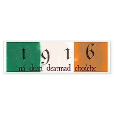 Ireland Flag 1916 Easter Rising Car Sticker