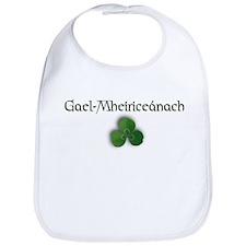 Irish-American (in Gaelic) Bib