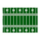 Football field 5x7 Rugs
