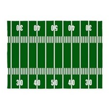 Football Field 5'x7'Area Rug