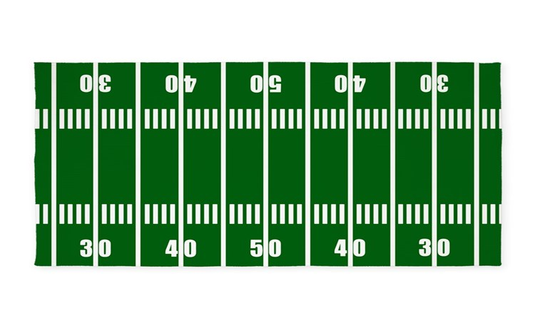 football field rug lowes rugs college 5x7