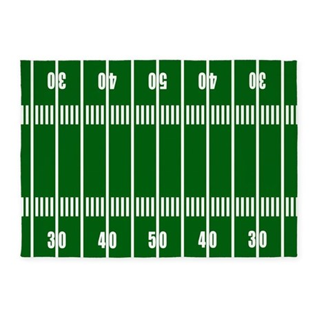 Football Field 5u0027x7u0027Area Rug