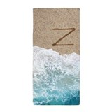 Letter z Beach Towels