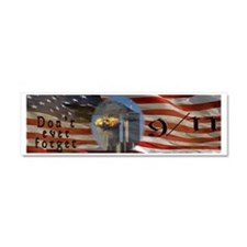American Flag 9/11 Sept 11 Don't Car Magnet 10 x 3