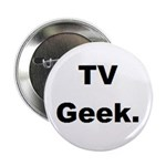 TV Geek. Button (10 pk)