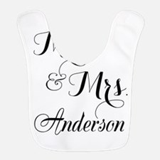 Mr. & Mrs. Personalized Monogrammed Bib