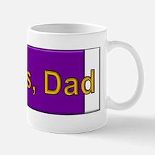 Purple Heart; Thanks, Dad Mug