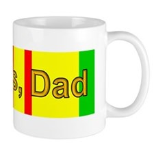 My Dad is a Vietnam Vet; Thanks, Dad Small Mugs