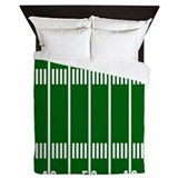 Football field Queen Duvet Covers