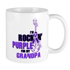 RockinPurpleForGrandpa Mugs