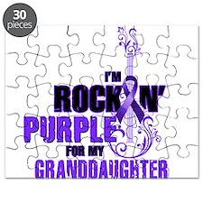 RockinPurpleForGranddaughter Puzzle
