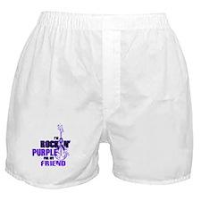 RockinPurpleForFriend Boxer Shorts
