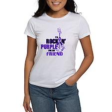 RockinPurpleForFriend T-Shirt