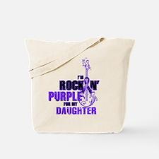 RockinPurpleForDaughter Tote Bag