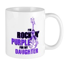 RockinPurpleForDaughter Mugs