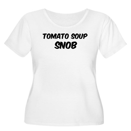 Tomato Soup Women's Plus Size Scoop Neck T-Shirt
