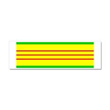 Vietnam Campaign Ribbon Car Magnet 10 x 3