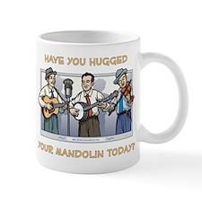 Mug: Hugged your mandolin