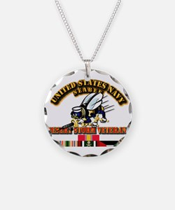 Navy - Seabee - Desert Storm Necklace