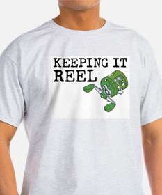 Fishing t shirts cafepress for Keep it reel fishing