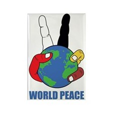 World Peace Rectangle Magnet
