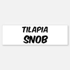 Tilapia Bumper Bumper Bumper Sticker