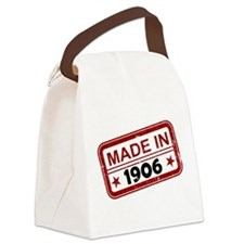 Stamped Made In 1906 Canvas Lunch Bag