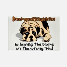 Breed-specific legislation bl Rectangle Magnet