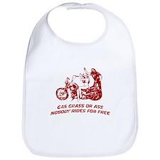Gas Grass or Ass Biker Bib