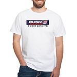 Bush/Satan White T-Shirt