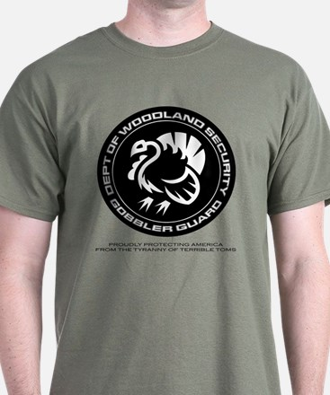 Depart Of Woodland Security Turkey T-Shirt