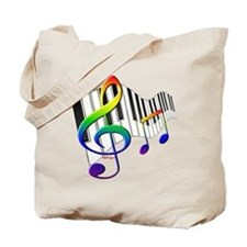 Unique Music Tote Bag