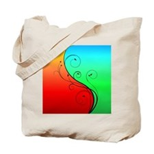 Warm and Cool Tote Bag