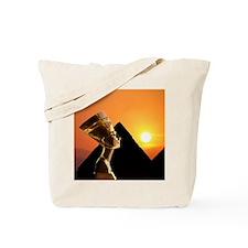Nefertiti Napkin-tile Tote Bag