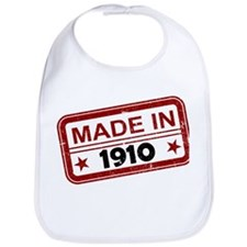 Stamped Made In 1910 Bib
