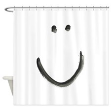 A SMILE for every day Shower Curtain