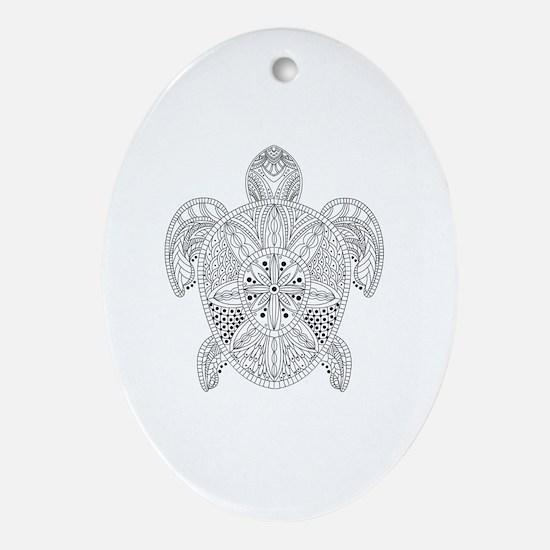 Unique Styles Oval Ornament