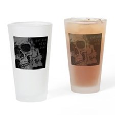 Get Out of My Head Drinking Glass