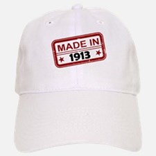 Stamped Made In 1913 Baseball Baseball Cap