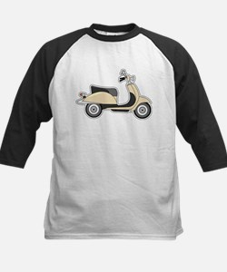 Cute Retro Scooter Sand Tee