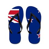 New zealand flag Flip Flops
